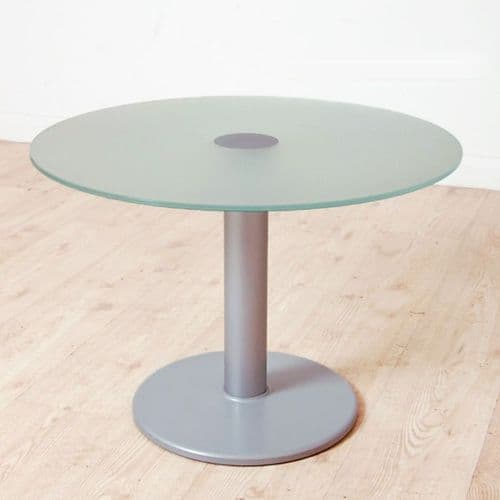 650mm diameter Round Glass Coffee Table