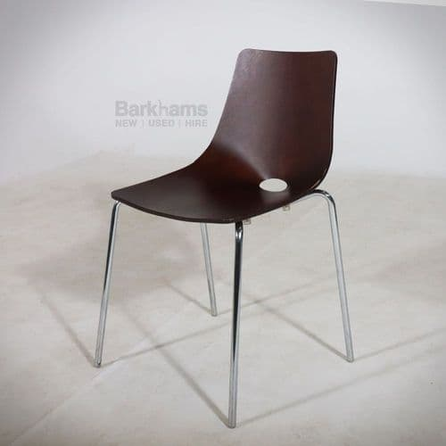 Allermuir Canteen Chair Walnut