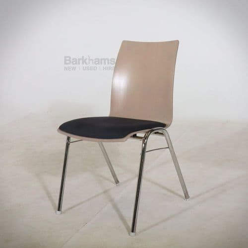 Brunner Stacking Chair - Seat Upholstered