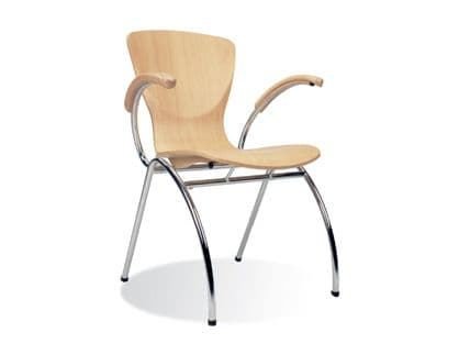Canteen Chair with Arms