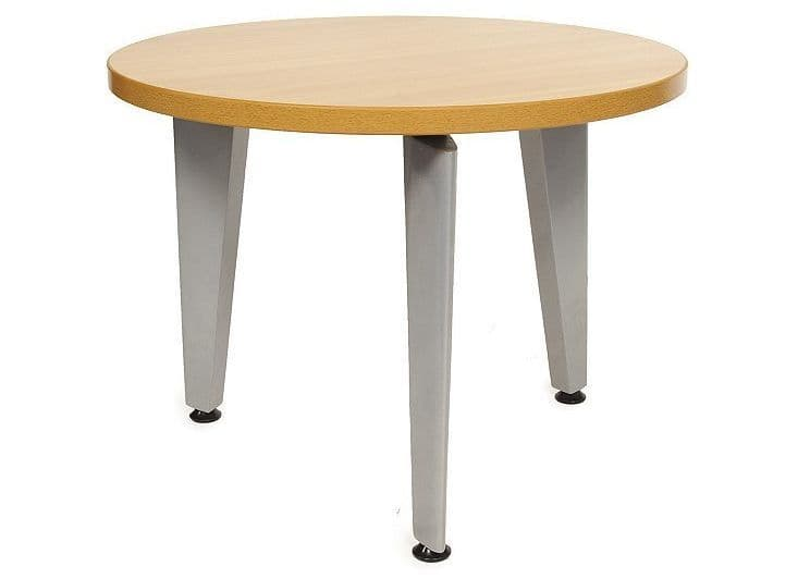 Circular Coffee Table | low reception table | coffee table on three legs