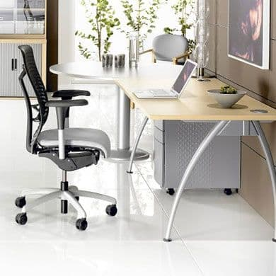 Executive Desk with Optional Meeting End