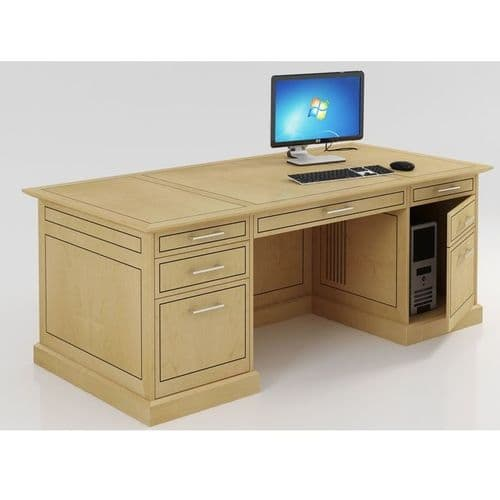 Executive Panel Ended Desk