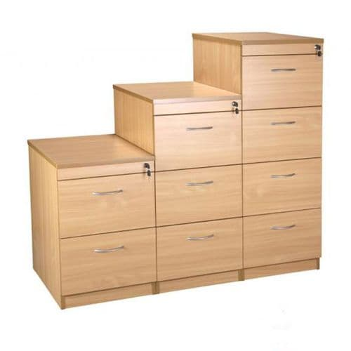Filing Cabinets Available in Light Oak or Beech