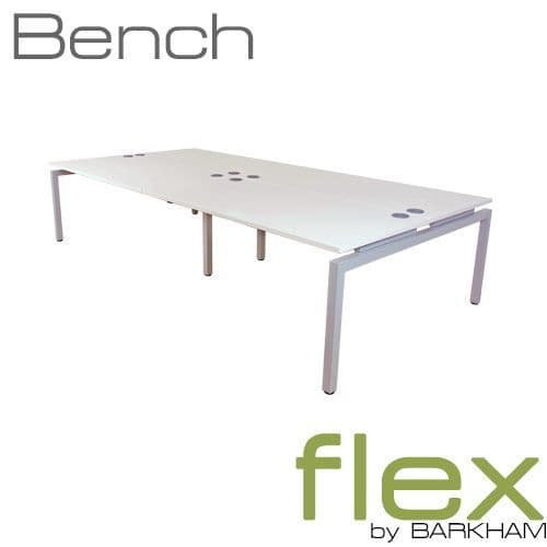 Flex | New Bench Desk Silver