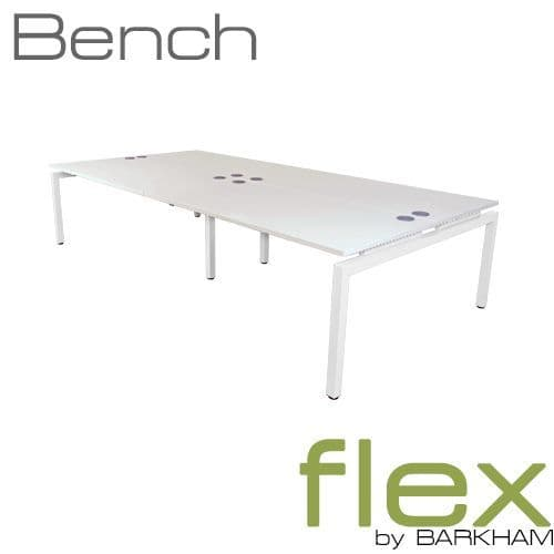 Flex | New Bench Desk White