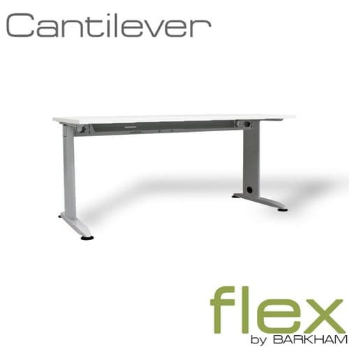 Flex | New Silver Cantilever Desk