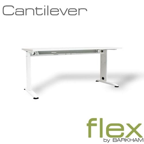 Flex | New White Cantilever Desk