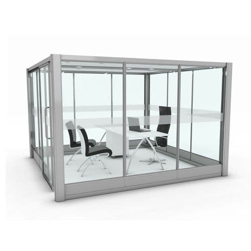 Free Standing Square Meeting Pod