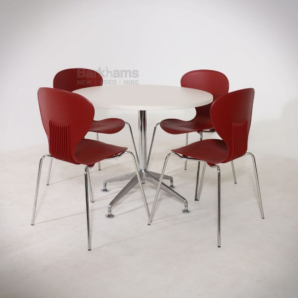 Frovi Chair In Red| Frovi Mood Stall| Red Frovi Chair