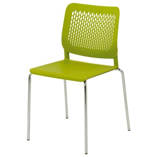 Funky Plastic Stacking Chair
