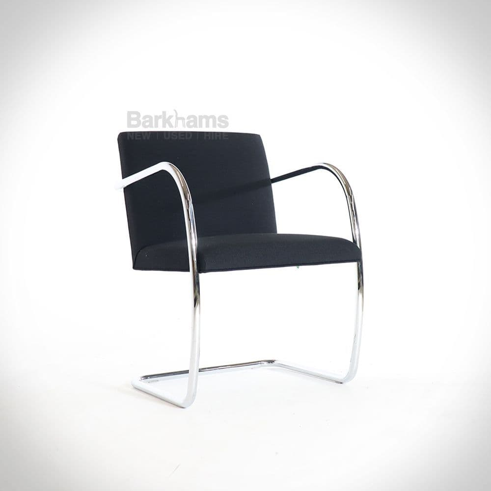 Knoll Brno Meeting Chair | Knoll Black Meeting Chair | Modern Meeting Chair