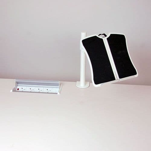 Lap Top Stand in White, Black or Silver