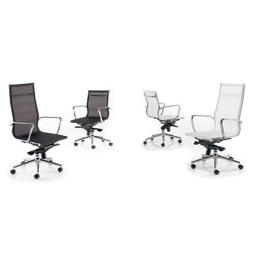 Medium or High Mesh Back Executive Chair