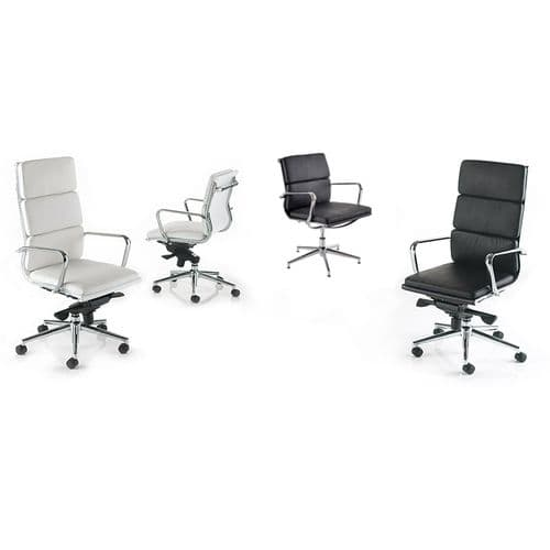 Meeting Chair on Glides or Castors