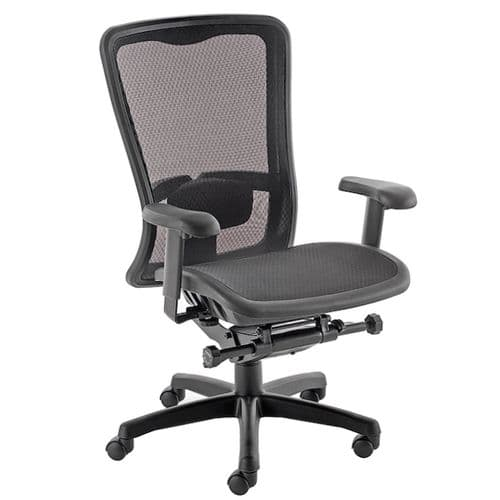 Mesh Back Operator Chair with optional headrest