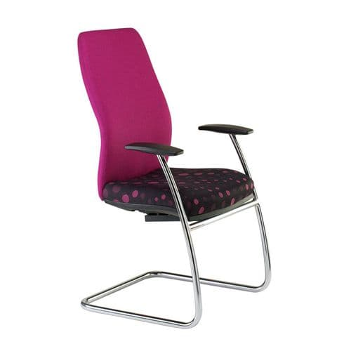 New High Back Meeting Chair with Arms