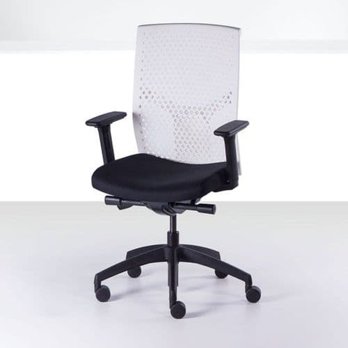 Operator Chair with Perforated Back
