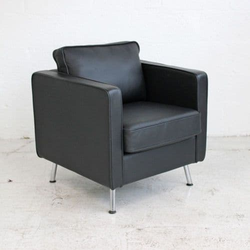 Orangebox Ogmore Leather Armchair