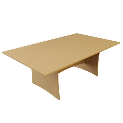 Panel End Rectangular Boardroom Table