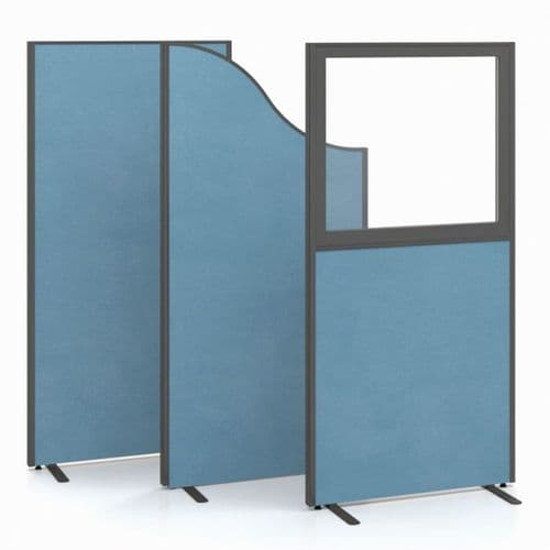 Part Glazed Free Standing Screens