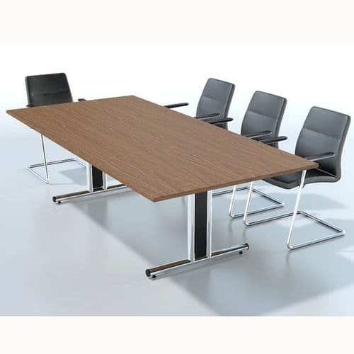 Rectangular Boardroom Table with MFC Finish