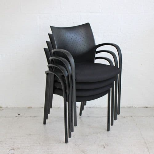 Senator Trillipse Chair - Black