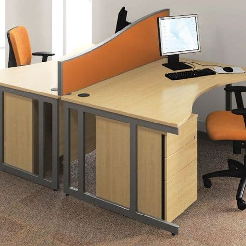 Solid Desk Mounted Screens