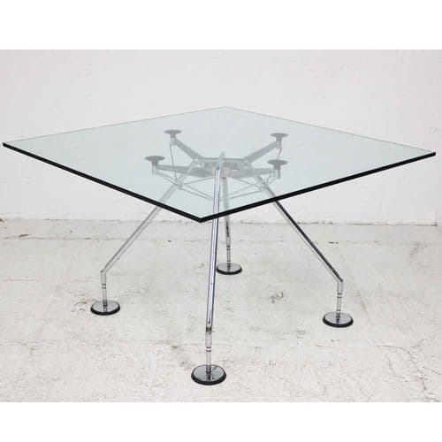 Square Glass Nomos Table - Original