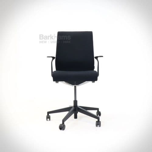 Steelcase Think Chair - Upholstered Black