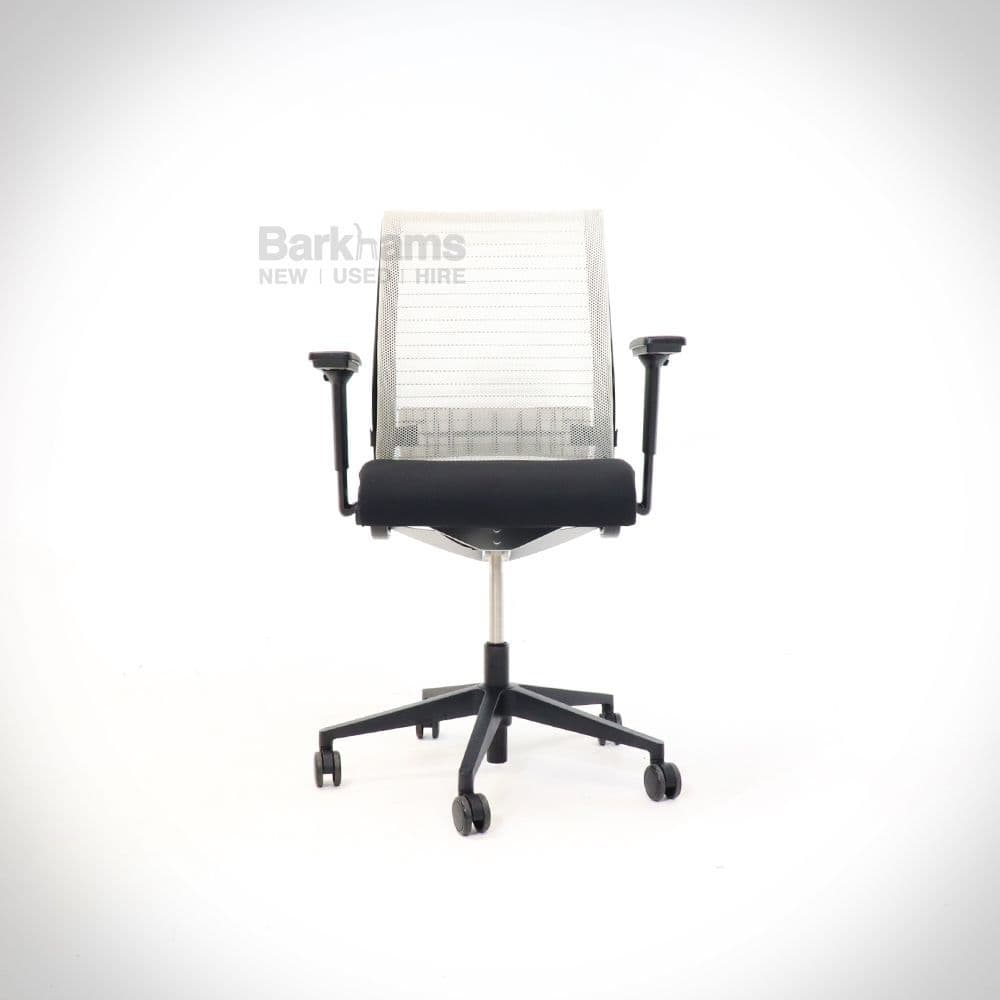 Steelcase Think Chair - White Back