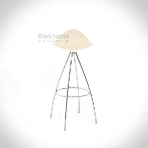 Stua Onda Bar Stool - Cream