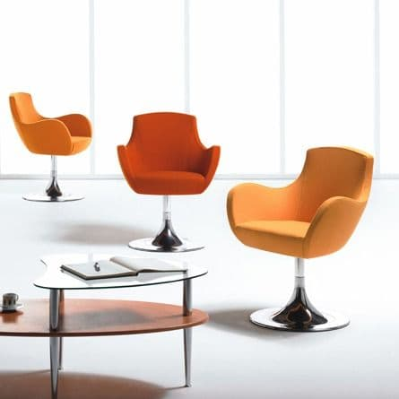 Swivel Reception Chairs