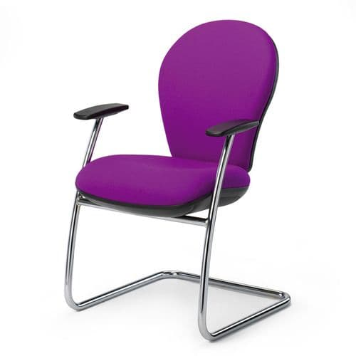 Traditionally Designed Meeting Chair