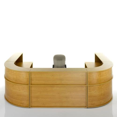 U-Shaped Modular Reception Desk