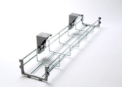 Wire Basket 800mm | cable tidy | under desk wire organiser