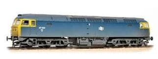 Bachmann 31-659 Class 47 47001 BR Blue Full Yellow Panels (Weathered)