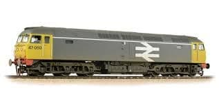 Bachmann 31-664 Class 47/0 47050 Railfreight Grey (Weathered)