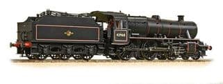 Bachmann 31-692 (Ex LMS) Stanier Mogul 42968 BR Lined Black Late Crest (Preserved)