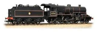 Bachmann 32-176 Crab 42765 BR lined black early emblem - welded tender with coal rails
