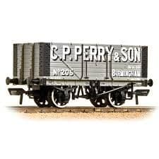 Bachmann 37-117 7 Plank Fixed end wagon C. P. Perry