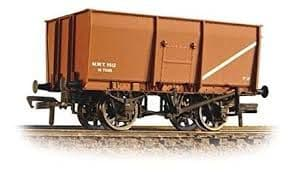 Bachmann 37-451B 16 ton slope side mineral wagon riveted side door MWT brown