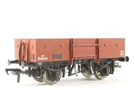 Bachmann 38-326 13T High Sided Steel Open Wagon E281604 (Chain Pockets) In BR Bauxite (Late)