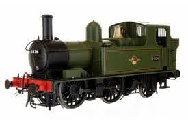 Dapol 7S-006-023 0-4-2T 14xx 1426 BR Lined Green Late Crest