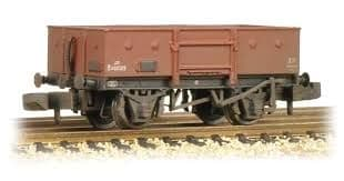 Graham Farish 377-950 13 Ton High Sided Steel Open Wagon (Chain Pockets) BR Bauxite (Early)