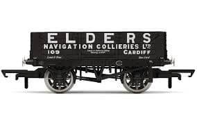 "Hornby R6863 4-plank open wagon ""Elders Navigation Collieries, Cardiff"""