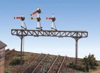 Ratio 271 Signal Gantry Unpainted Kit Double Track