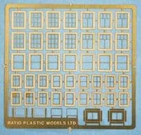 Ratio 310 Domestic Windows (Etched Brass)
