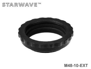 10mm M48 Spacer Extension Tube Ring - Easy Grip
