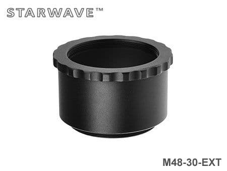 30mm M48 Spacer Extension Tube - Easy Grip